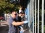 Maľovanie oplotenia UNLP