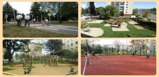 Detské a športové ihriská